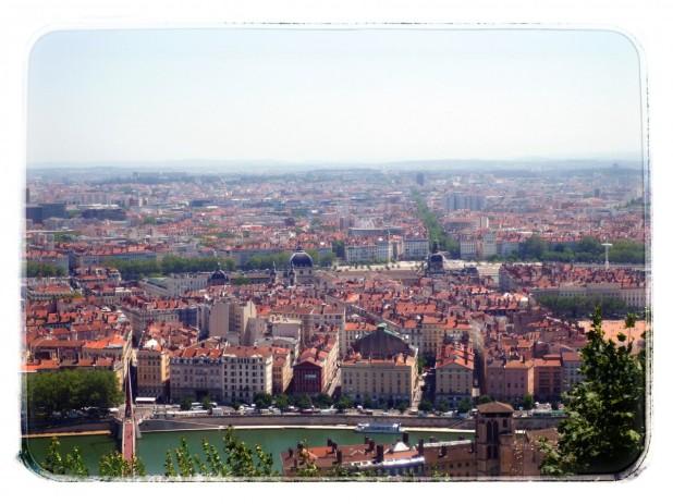 Lyon desde el cielo