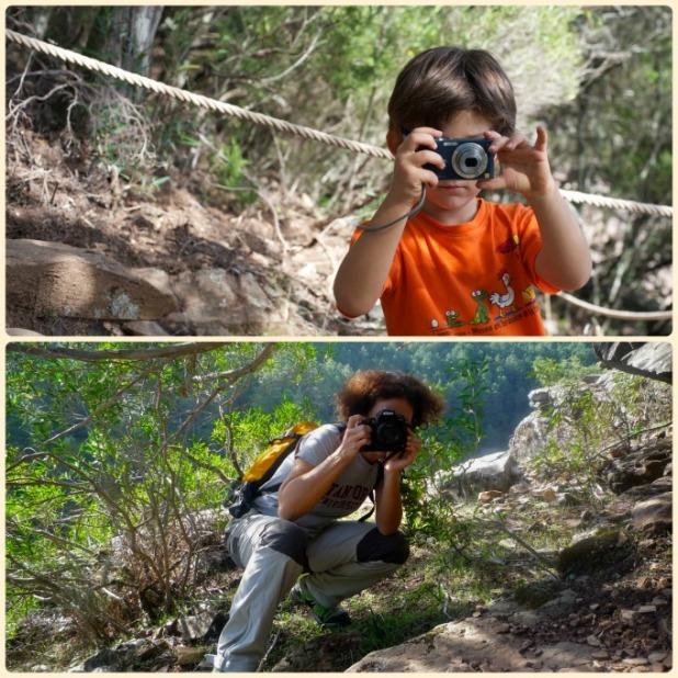 Lucha de fotografos